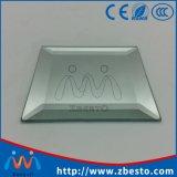 Espejo grande biselado industrial del mismo tamaño modificado para requisitos particulares del plata/de aluminio