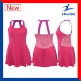 Износ платья тенниса сублимации самой последней конструкции Healong специальный полный