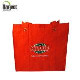 sac d'emballage non tissé promotionnel pliable de l'épicerie 80GSM pour des achats