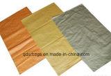 Покрашенный пустой мешок пластмассы сплетенный PP с высоким качеством
