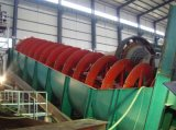 Alto Weir Spiral Classifier per Gold Ore Beneficiation Plant