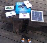 sistema di illuminazione solare della stanza della lampada di 2W LED nell'accensione dell'Africa