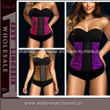 Atacado Lady Sexy Steel Bonded Waist Top Plus Size Corsets