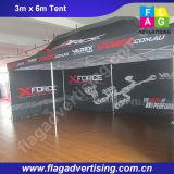 Цвет Pringting цифров полный напольное хлопает вверх шатер крыши верхний для рекламировать
