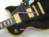 Type de la musique d'Afanti/Lp/pièces faites sur commande de noir/or/guitare électrique (CST-083)