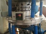 Máquina de la protuberancia de la película de la pista del doble del tornillo de la presión del cielo y tierra sola