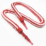 boyau acrylique de Shisha de narguilé de modèle rayé rouge de fourrure de 1.8m (ES-HH-006-2)