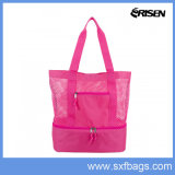 Mesh Beach Cooler Tote Bag, com design de moda