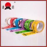 L'adhésif BOPP a délivré un certificat la bande colorée d'emballage