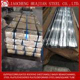Lamiera di acciaio ondulata galvanizzata con le mattonelle della lamiera di acciaio del tetto