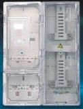 3 fases dirigen Conectar-en la caja de los multímetros para la distribución y la medición de la energía