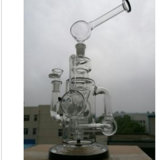 2016 Wasser-Rohre - neuer Entwurfs-Glaspfeifen mit Wasser-Rohren Qualität und heißer Verkaufs-Glaswasser-Rohr, GlasHuka