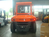 Cabin (FD60)の6.0ton Diesel Forkliftによってディーゼル動力を与えられるForklift