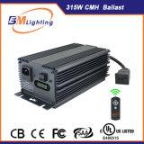 Los invernaderos de la venta caliente 315W CMH digital Grow lastre ligero para sistemas hidropónicos