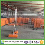 Cerca provisória galvanizada australiana da construção do MERGULHO quente do padrão 2.1X2.4m