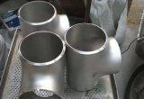 T dell'accessorio per tubi della saldatura testa a testa del acciaio al carbonio
