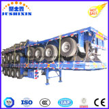3axles envío de contenedores 40feet Flatbed Trailer