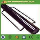 Q235 el PVC de la longitud del material 800m m cubierto instala programas pilotos del poste de las manetas
