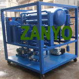 Double épurateur de pétrole de transformateur de vide poussé de pompe d'étapes