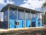 A cabine de pulverizador projetada nova para o carro, pintura e seca, tecnologia de Italy