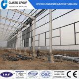 Edifício fácil da construção de aço da instalação para o armazém