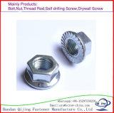Noix en nylon d'écrou borgne d'écrou de blocage de noix de bride de dispositif de fixation/noix Hex longue