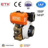 двигатель дизеля 5-14HP установил (ETK189F)