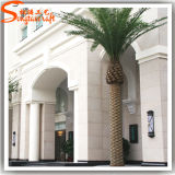 Albero artificiale decorativo esterno sempreverde della palma da datteri della palma dei commerci all'ingrosso