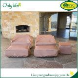 Il PE misura il coperchio stabilito della mobilia del coperchio del patio rettangolare di resistenza termica