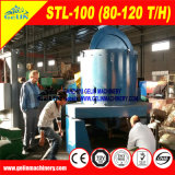 Machine à laver alluviale de bidon, étain alluvial séparant la centrale, usine alluviale de concentrateur de bidon pour le traitement alluvial de bidon