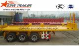Flatbed Aanhangwagen van de Kipper van de Lading van de Container