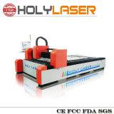 Machine de découpage de laser de fibre de feuille de fer