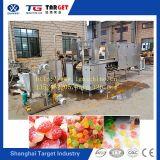 Doces gomosos da geléia dos doces da capacidade pequena que fazem a máquina para o mais baixo preço