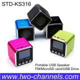 Mini altavoz recargable portable del USB con la función de Mrcro SD/FM (STD-KS3)