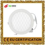 Eingebettetes Kreis-LED-Panel-Lampen-Beleuchtung-Licht