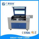 Máquina de gravura da câmara de ar da tubulação do CO2 do laser