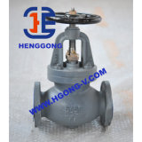 Valvola di globo della staffa angolare della guarnizione del acciaio al carbonio di API/DIN/muggito di Wcb