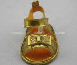 Сандалии Ws1079 младенца золота