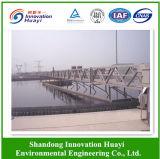 Réservoir de sédimentation secondaire pour l'usine de traitement des eaux résiduaires
