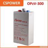 Fabricante 2V300ah da bateria de Opzv para o armazenamento solar Opzv2-300