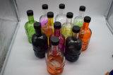 Стеклянная тара спирта конструкции черепа, стеклянный пакет, бутылка вина