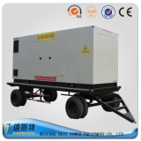 Генератор двигателя дизеля электричества трейлера молчком 250kVA 200kw Китая