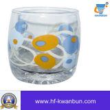 De Goede Kwaliteit van de Bloem van de Kop van de thee met Overdrukplaatje Pringting kb-Hn0746