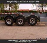 3 محور العجلة وعاء صندوق هيكليّة [سمي] شاحنة مقطورة لأنّ نقل