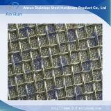 Filtre aggloméré fait en treillis métallique d'acier inoxydable