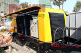 Machine de pompage concrète de 50 Cbm/Hr avec la canalisation en acier de distribution de 100m en vente