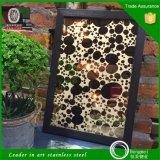 El espejo del color grabó al agua fuerte la placa de acero inoxidable decorativa con el mejor precio