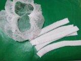 Casquillo quirúrgico no tejido disponible de la tira, cubierta de la barba