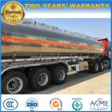 판매를 위한 45000 L 알루미늄 합금 연료 유조선 45cbm 연료 탱크 트레일러