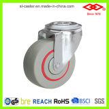 100mmの旋回装置の版の騒音によって減らされる足車(P102-51D100X33)